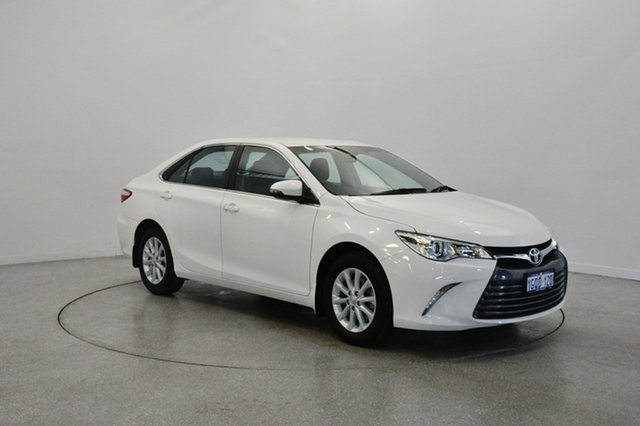 Used Toyota Camry ASV50R Altise, 2015 Toyota Camry ASV50R Altise White 6 Speed Sports Automatic Sedan