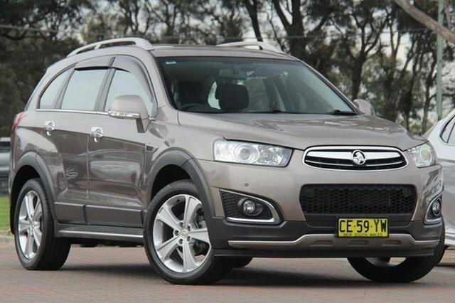 Used Holden Captiva CG MY15 7 AWD LTZ, 2015 Holden Captiva CG MY15 7 AWD LTZ Brown 6 Speed Sports Automatic SUV