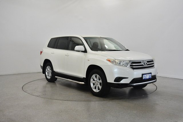 Used Toyota Kluger GSU45R MY12 KX-R AWD, 2012 Toyota Kluger GSU45R MY12 KX-R AWD White 5 Speed Sports Automatic Wagon