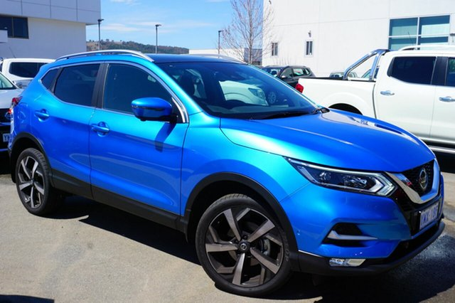Used Nissan Qashqai J11 Series 2 Ti X-tronic, 2018 Nissan Qashqai J11 Series 2 Ti X-tronic Vivid Blue 1 Speed Constant Variable Wagon