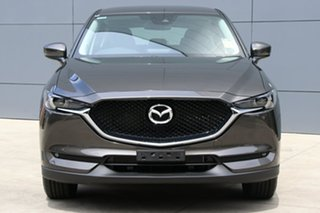 2018 Mazda CX-5 KF4WLA Maxx SKYACTIV-Drive i-ACTIV AWD Sport Titanium Flash 6 Speed Sports Automatic