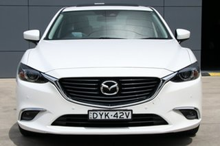 2017 Mazda 6 GL1031 GT SKYACTIV-Drive Snowflake White 6 Speed Sports Automatic Sedan