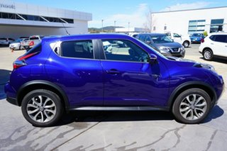 2017 Nissan Juke F15 Series 2 Ti-S X-tronic AWD Ink Blue 1 Speed Constant Variable Hatchback