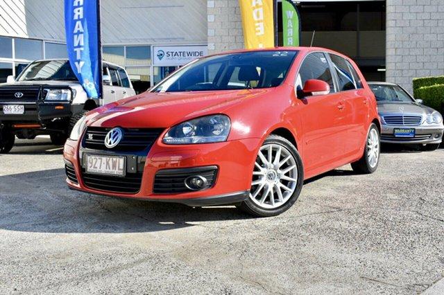 Used Volkswagen Golf V MY08 GT DSG Sport, 2008 Volkswagen Golf V MY08 GT DSG Sport Red 6 Speed Sports Automatic Dual Clutch Hatchback