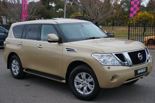 2015 Nissan Patrol Y62 TI-L Beige 7 Speed Sports Automatic Wagon.