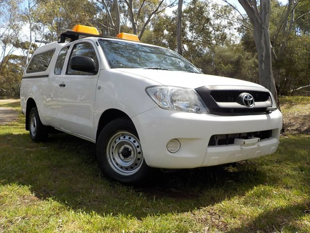 Used Toyota Hilux GGN15R MY09 SR Xtra Cab 4x2, 2009 Toyota Hilux GGN15R MY09 SR Xtra Cab 4x2 5 Speed Automatic Utility