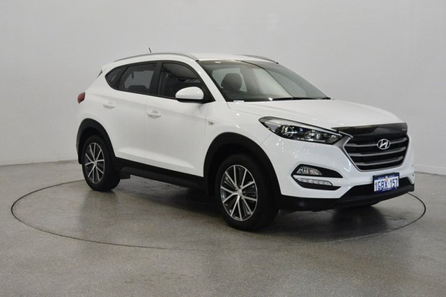 Used Hyundai Tucson TL MY17 Active X 2WD, 2016 Hyundai Tucson TL MY17 Active X 2WD White 6 Speed Sports Automatic Wagon