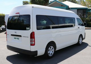 2016 Toyota HiAce TRH201R MY15 LWB French Vanilla 6 Speed Automatic Van