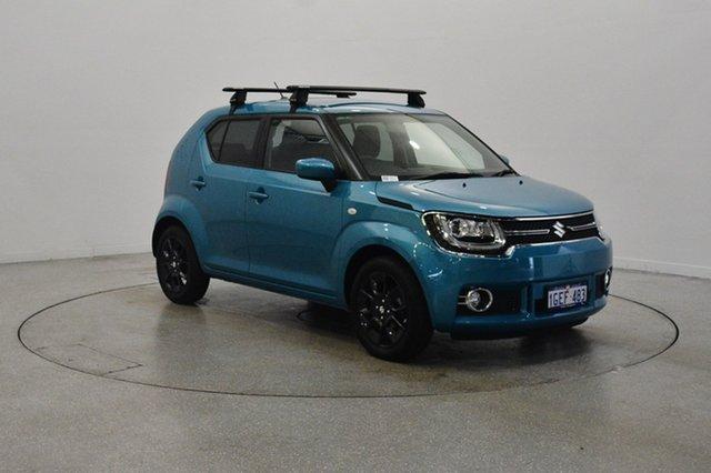 Used Suzuki Ignis MF GLX, 2017 Suzuki Ignis MF GLX Blue 1 Speed Constant Variable Hatchback