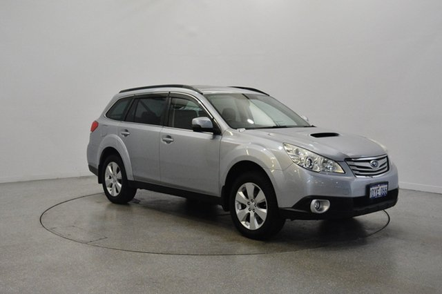Used Subaru Outback B5A MY12 2.0D AWD Premium, 2012 Subaru Outback B5A MY12 2.0D AWD Premium Silver 6 Speed Manual Wagon