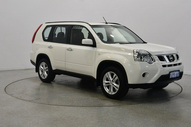 Used Nissan X-Trail T31 Series IV ST 2WD, 2012 Nissan X-Trail T31 Series IV ST 2WD White 1 Speed Constant Variable Wagon