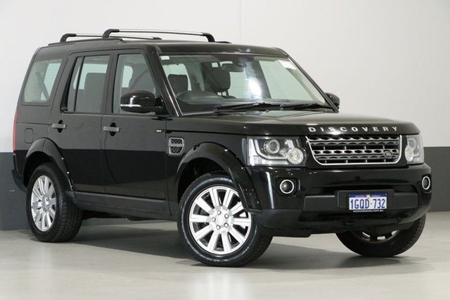 Used Land Rover Discovery MY14 3.0 TDV6, 2014 Land Rover Discovery MY14 3.0 TDV6 Black 8 Speed Automatic Wagon