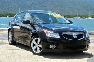 2013 Holden Cruze JH Series II MY13 Equipe Black 6 Speed Sports Automatic Hatchback.