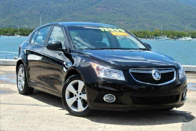 Used Holden Cruze JH Series II MY13 Equipe, 2013 Holden Cruze JH Series II MY13 Equipe Black 6 Speed Sports Automatic Hatchback