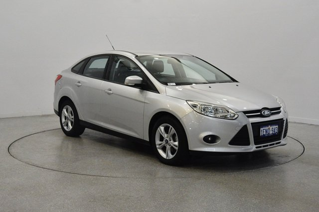 Used Ford Focus LW MKII Trend PwrShift, 2014 Ford Focus LW MKII Trend PwrShift Ingot Silver 6 Speed Sports Automatic Dual Clutch Sedan