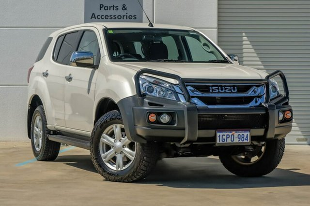 Used Isuzu MU-X MY14 LS-U Rev-Tronic, 2014 Isuzu MU-X MY14 LS-U Rev-Tronic White 5 Speed Sports Automatic Wagon