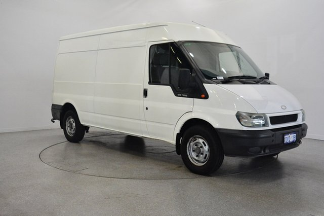 Used Ford Transit VH High Roof, 2003 Ford Transit VH High Roof White 5 Speed Manual Van