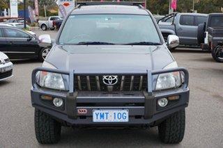 2008 Toyota Landcruiser Prado KDJ120R Grande Grey 5 Speed Automatic Wagon.