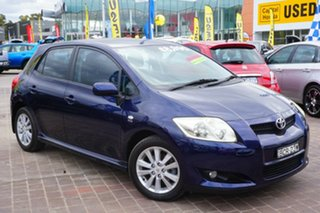 2007 Toyota Corolla ZRE152R Levin SX Blue 6 Speed Manual Hatchback.