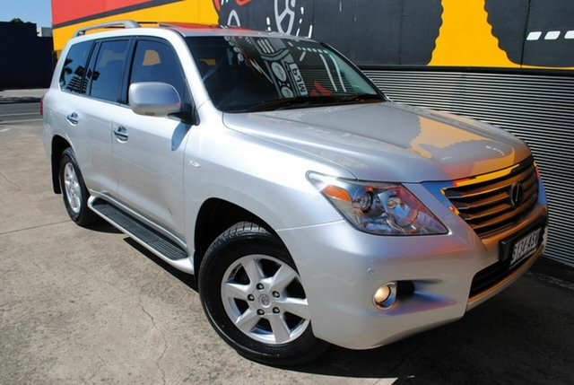 Used Lexus LX570 URJ201R Sports Luxury, 2008 Lexus LX570 URJ201R Sports Luxury Premium Silver 6 Speed Sports Automatic Wagon