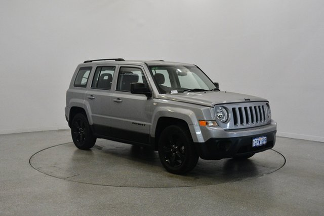 Used Jeep Patriot MK MY14 Blackhawk CVT Auto Stick 4x2, 2014 Jeep Patriot MK MY14 Blackhawk CVT Auto Stick 4x2 Silver 6 Speed Constant Variable Wagon