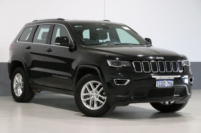 Used Jeep Grand Cherokee WK MY17 Laredo (4x2), 2017 Jeep Grand Cherokee WK MY17 Laredo (4x2) Black 8 Speed Automatic Wagon