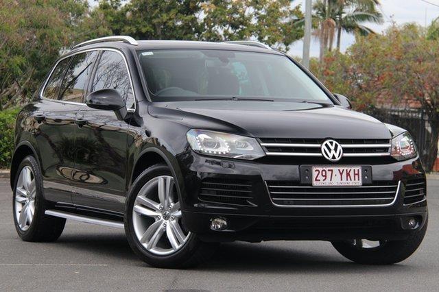Used Volkswagen Touareg 7P MY13 V6 TDI Tiptronic 4MOTION, 2013 Volkswagen Touareg 7P MY13 V6 TDI Tiptronic 4MOTION Black 8 Speed Sports Automatic Wagon