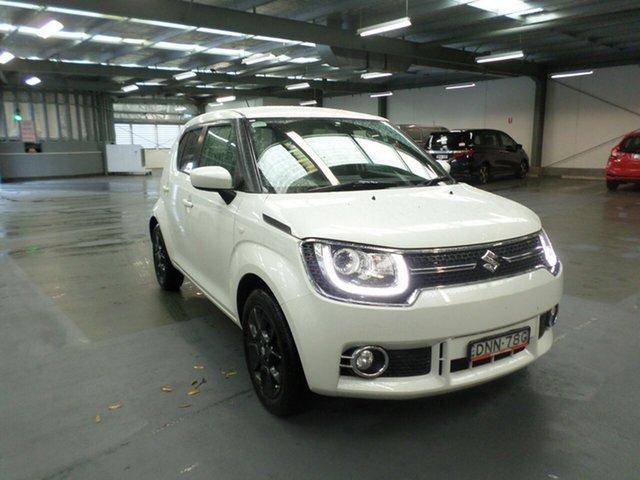 Used Suzuki Ignis MF GLX, 2017 Suzuki Ignis MF GLX White 1 Speed Constant Variable Hatchback