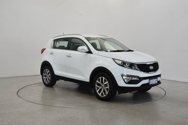 Used Kia Sportage SL MY15 Si 2WD Premium, 2015 Kia Sportage SL MY15 Si 2WD Premium White 6 Speed Sports Automatic Wagon