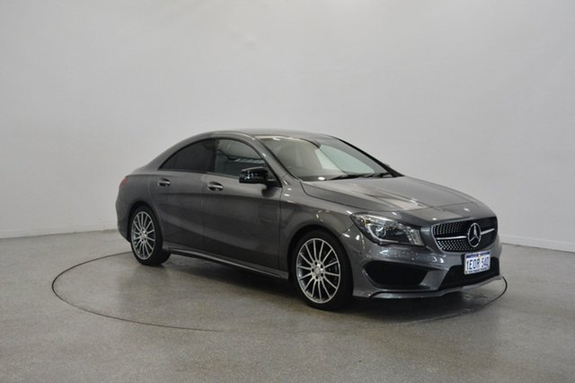 Used Mercedes-Benz CLA200 C117 DCT, 2014 Mercedes-Benz CLA200 C117 DCT Grey 7 Speed Sports Automatic Dual Clutch Coupe
