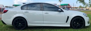 2016 Holden Commodore VF II MY16 SV6 White 6 Speed Automatic Sedan.