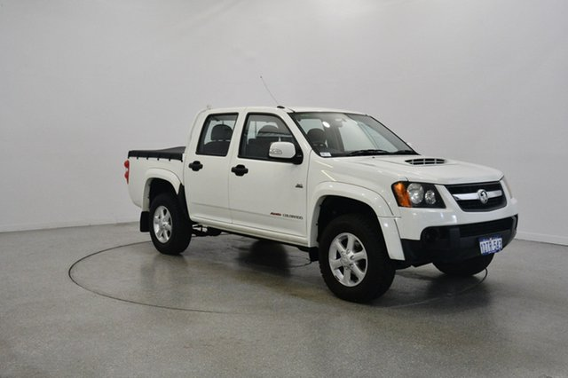 Used Holden Colorado RC MY11 LX-R Crew Cab, 2011 Holden Colorado RC MY11 LX-R Crew Cab White 5 Speed Manual Utility
