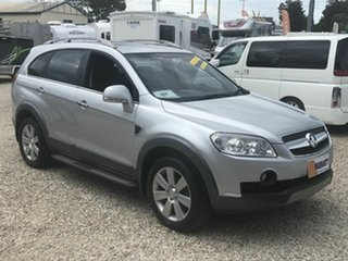 2011 Holden Captiva CG Series II 7 SX (FWD) Silver 6 Speed Automatic Wagon.