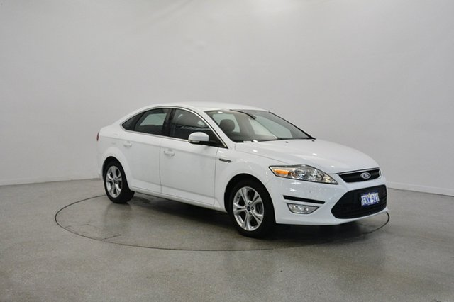 Used Ford Mondeo MC Zetec PwrShift TDCi, 2014 Ford Mondeo MC Zetec PwrShift TDCi White 6 Speed Sports Automatic Dual Clutch Hatchback