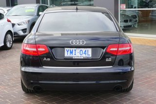 2008 Audi A6 4F MY09 Tiptronic Quattro Black 6 Speed Sports Automatic Sedan