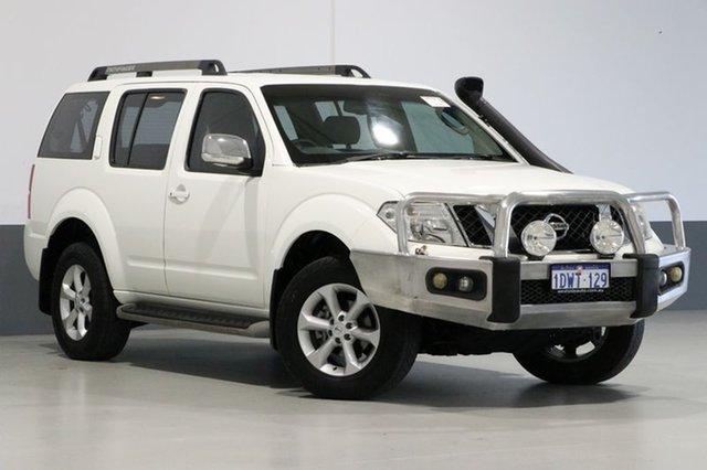 Used Nissan Pathfinder R51 Series 4 ST-L (4x4), 2012 Nissan Pathfinder R51 Series 4 ST-L (4x4) White 5 Speed Automatic Wagon