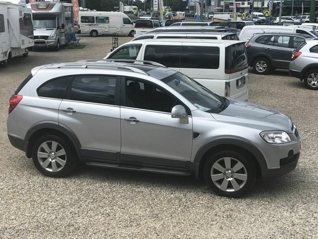 Used Holden Captiva LX LX, 2011 Holden Captiva LX LX Silver 5 Speed Automatic Wagon