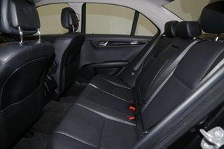 2010 Mercedes-Benz C220 CDI W204 MY10 Avantgarde Black 5 Speed Automatic Sedan