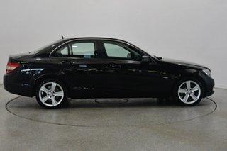 2010 Mercedes-Benz C220 CDI W204 MY10 Avantgarde Black 5 Speed Automatic Sedan.