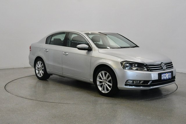 Used Volkswagen Passat Type 3C MY13 125TDI DSG Highline, 2012 Volkswagen Passat Type 3C MY13 125TDI DSG Highline Silver 6 Speed Sports Automatic Dual Clutch