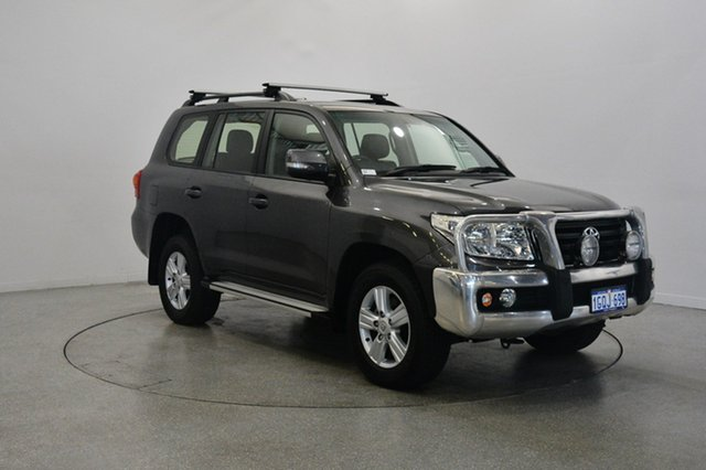 Used Toyota Landcruiser VDJ200R MY12 Altitude, 2012 Toyota Landcruiser VDJ200R MY12 Altitude Graphite 6 Speed Sports Automatic Wagon