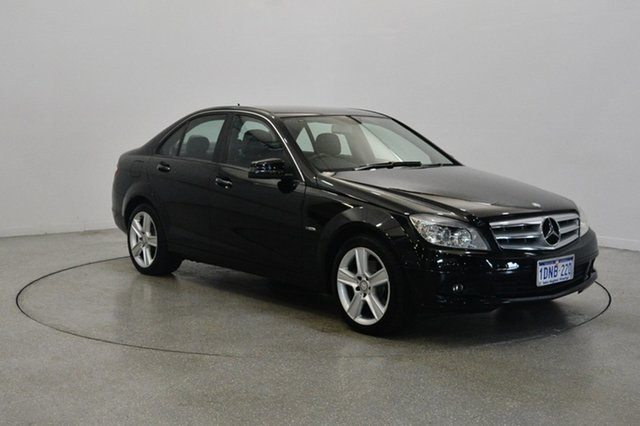 Used Mercedes-Benz C220 CDI W204 MY10 Avantgarde, 2010 Mercedes-Benz C220 CDI W204 MY10 Avantgarde Black 5 Speed Automatic Sedan