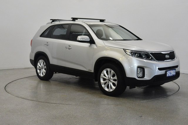 Used Kia Sorento XM MY13 SLi 4WD, 2012 Kia Sorento XM MY13 SLi 4WD Bright Silver 6 Speed Sports Automatic Wagon
