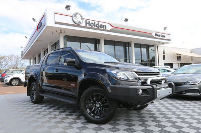 Used Holden Colorado RG MY18 Z71 Pickup Crew Cab, 2017 Holden Colorado RG MY18 Z71 Pickup Crew Cab Black 6 Speed Sports Automatic Utility
