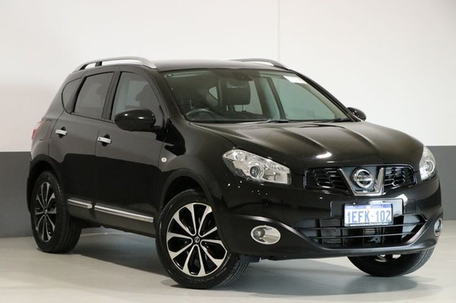 Used Nissan Dualis J10 MY13 TI-L (4x4), 2013 Nissan Dualis J10 MY13 TI-L (4x4) Black 6 Speed CVT Auto Sequential Wagon