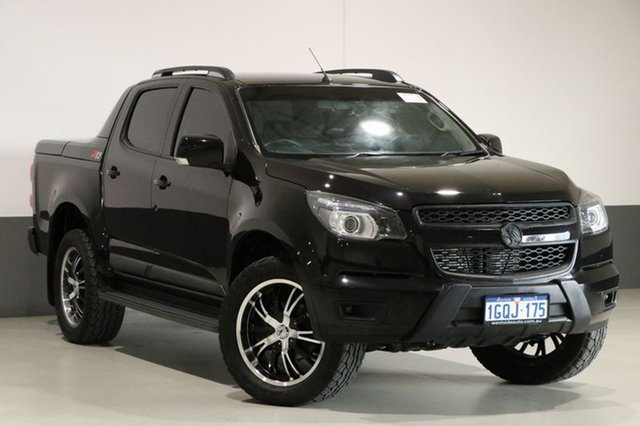 Used Holden Colorado RG MY16 Z71 (4x4), 2015 Holden Colorado RG MY16 Z71 (4x4) Black 6 Speed Automatic Crew Cab Pickup
