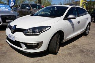 2015 Renault Megane III K95 Phase 2 GT-Line Sportwagon EDC White 6 Speed.