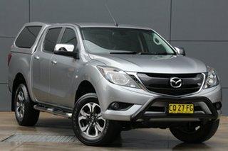 2015 Mazda BT-50 UP0YF1 XTR Billet Silver 6 Speed Sports Automatic Utility.