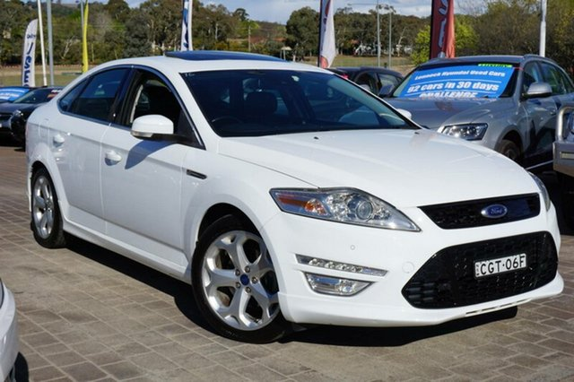 Used Ford Mondeo MC Titanium, 2011 Ford Mondeo MC Titanium White 6 Speed Sports Automatic Hatchback