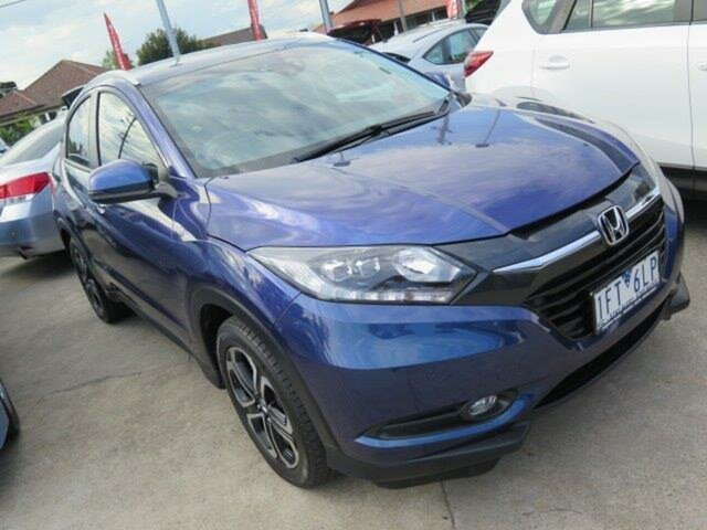 Used Honda HR-V MY15 VTi-L, 2015 Honda HR-V MY15 VTi-L Blue 1 Speed Constant Variable Hatchback